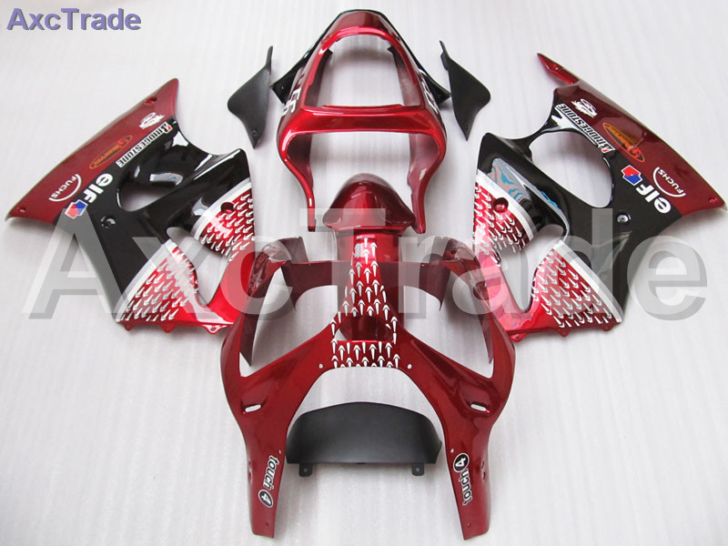 Moto Injection Molding Motorcycle Fairing Kit For Kawasaki Ninja ZX6R 636 ZX-6R 2000 2001 2002 00 01 02 Bodywork Fairings Red hot sales popular cowling for zx 6r 07 08 kawasaki ninja zx636 zx 6r 636 zx6r 2007 2008 nakano body fairings injection molding