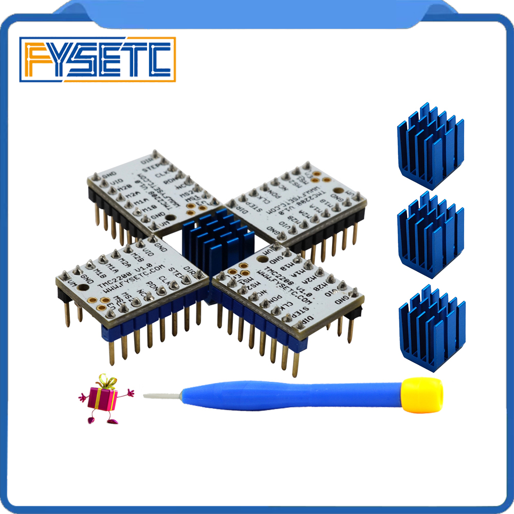 4pcs-tmc2208-stepping-motor-mute-driver-stepstick-power-tube-built-in-driver-current-14a-peak-current-2a-replace-tmc2100