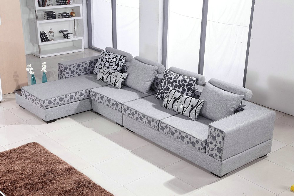 Chaise Sectional Sofa In New Arriveliving No Room European Style Set Modern  Fabric Hot Sale Low