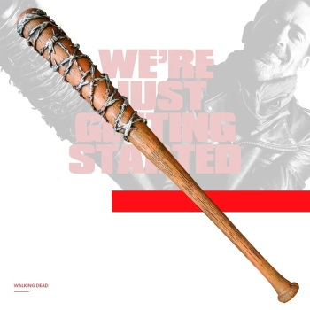 33inch The Walking Dead tool Negan PU baseball bat softball bit stick