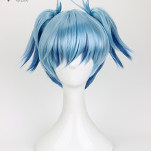 Costume Wig Hair Cosplay Assassination Classroom Short Ponytails Free-Wig-Cap Nagisa