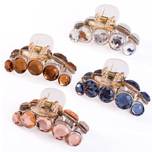 Xugar Hair Accessories Crystal Claws Hairpins For Girls Trendy Clip Full Rhinestone Crab for Women Girl
