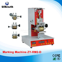 Electric dialing machine ZY-RM2-D code printer Dial coding machine for Leather LOGO printing
