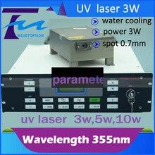 355nm laser module 3w  UV  laser Pulse-355-03-YAG  laser mark machine use ultravioleta laser module