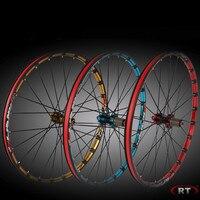2018 Ultralight 26/27.5 Bicycle Wheelset 24 Hole Mountain MTB Wheels Set Front 2 Rear 5 Bearings 8/9/10 Speed wheelset parts