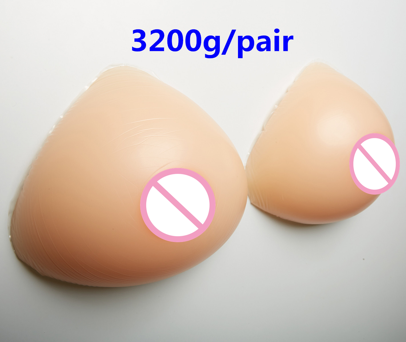 3200g/pair Mastectomy Silicone Breast Forms Transvestite Realistic Breast Prosthesis Silicone Artificial Breast Shemale Boobs realistic silicone breast forms prosthesis mastectomy for surgery woman false fake boobs