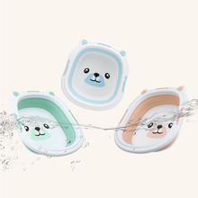 Portable Kids Bath Tub Hot Foldable Baby Silicone Basin Boys