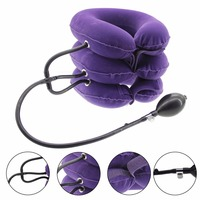 Cervical Neck Traction Device Inflatable 3 Layers For Neck Pain Spine Alignment Pillow And Headache Comfortable