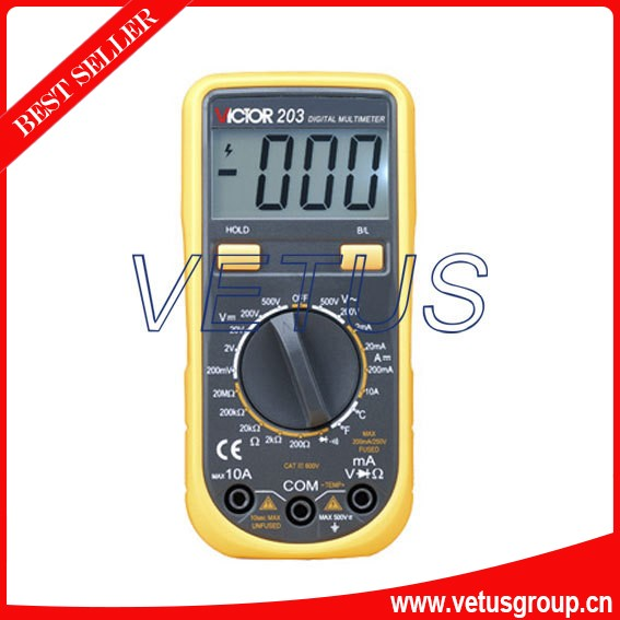 VICTOR VC203 high quality handheld digital multimeter with Automatic measurement  цены