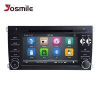 2 Din Car DVD Player For Porsche Cayenne 2003 2004 2005 2006 2007 2008 2009 2010 Multimedia GPS Navigation Radio Head Unit 125mm
