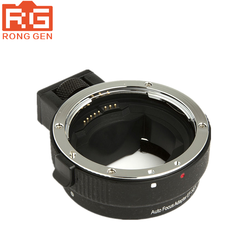 COMMLITE Auto-Focus Mount Adapter EF-NEX for Canon EF to Sony NEX Mount  perfectly supports for Sony full-frame camera A7/A7R camera auto focus lens adapter ii for canon eos ef ef s to sony full frame nex a7 a7r