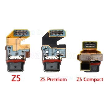 цена на Original Date Charging Port Charger Dock Connector Flex Cable For Sony Xperia Z5 Compact Premium USB Charging Dock Flex
