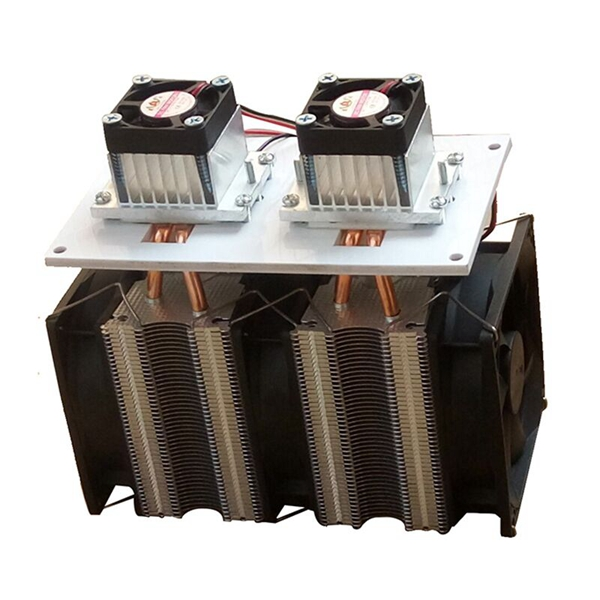 NEW Enhanced Version 12V 12A 144W DIY Double Head Semiconductor Refrigerator Radiator Cooling Equipment ModuleNEW Enhanced Version 12V 12A 144W DIY Double Head Semiconductor Refrigerator Radiator Cooling Equipment Module