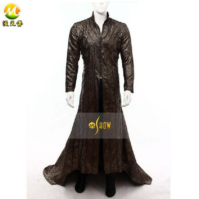 Movie Cosplay Set The Lord of the rings The hobbit Lee Pace Thranduil For Halloween Cosplay costume Thranduil dress custom made