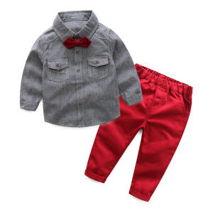 Kabeier Toddler Children Long Sleeves Suit Boy Clothes