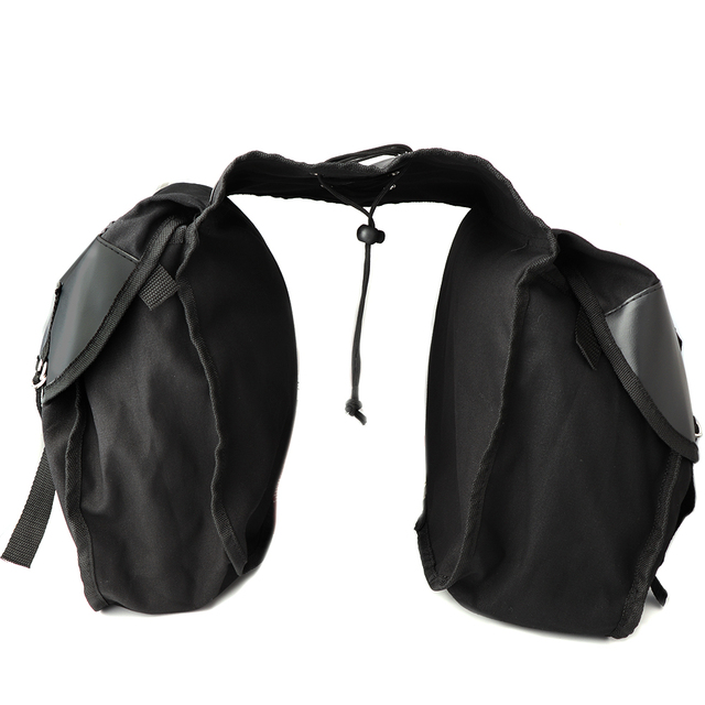 Motorcycle saddle bag Kit Knight Rider Brown Black Motorcycle Bag