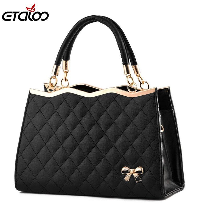 Women's bag 2018 new bag ladies fashion handbag women leather handbags Messenger bag shoulder bag