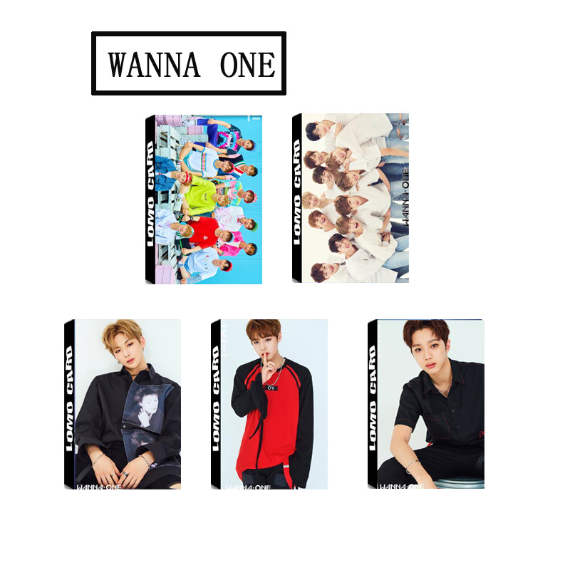 5d7860138870 kpop WANNA ONE LOMO small card package box 1X1   1 (TO BE ONE) 30pcs k pop  greeting LOMO card Postcard PHOTOcards k pop Album-in Jewelry Sets from  Jewelry ...