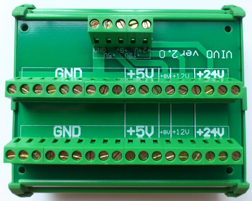 10pcs DC power distribution board replace terminal block save power supply electrical wiring time din rail