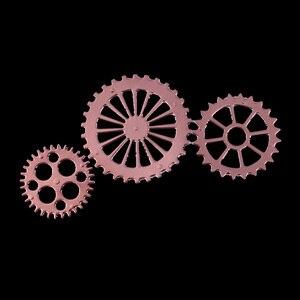 Image 4 - Металлические Вырубные штампы в стиле стимпанк Скрапбукинг на колесиках фон высечка для рукоделия бумажная карточка