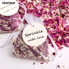 Natural Wedding Confetti Dried Flower Petals For Parisien Biodegradable Rose Floral Decorations