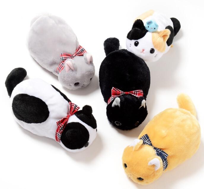 NEW YEAR Gift 1pc 23cm AMUSE nap cat plush pencil case buggy bag stuffed toy kids