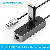 Vention USB 3 0 To 10 100 Mbps Lan Network Ethernet Adapter Card 3 Port USB