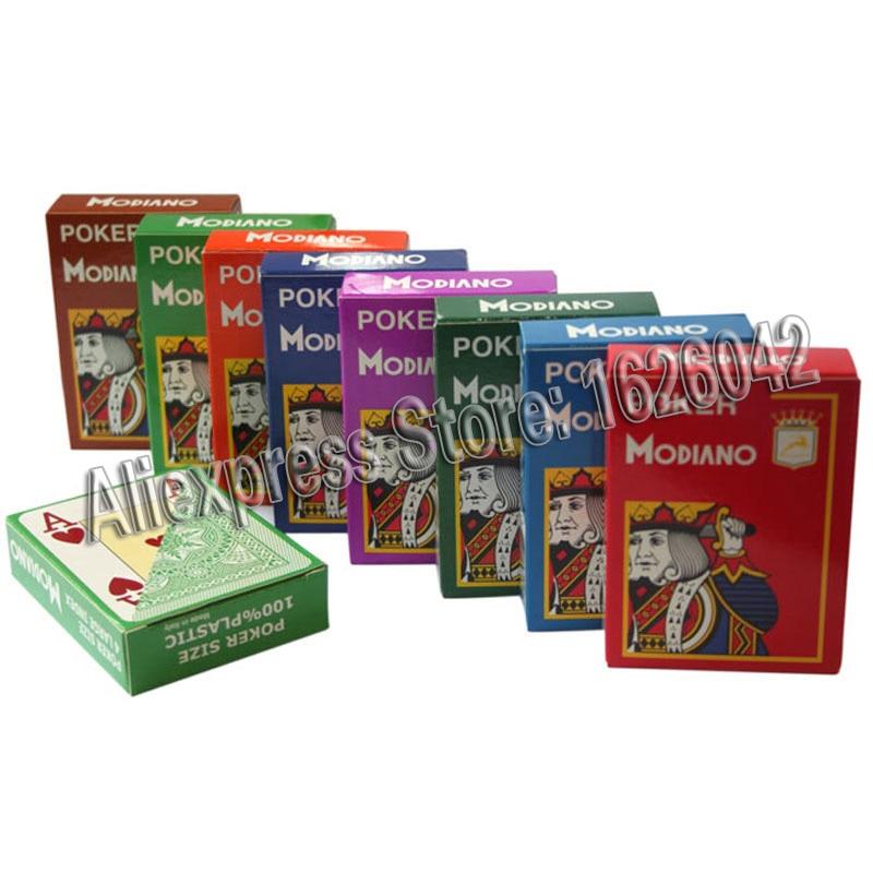 XF Modiano 4 cartes marquées latérales Jumbo pour analyseur de Poker - 2