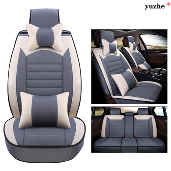 Yuzhe Linen car seat cover For Opel Astra h j gmokka insignia mokka corsa ampera car accessories car-styling cushion
