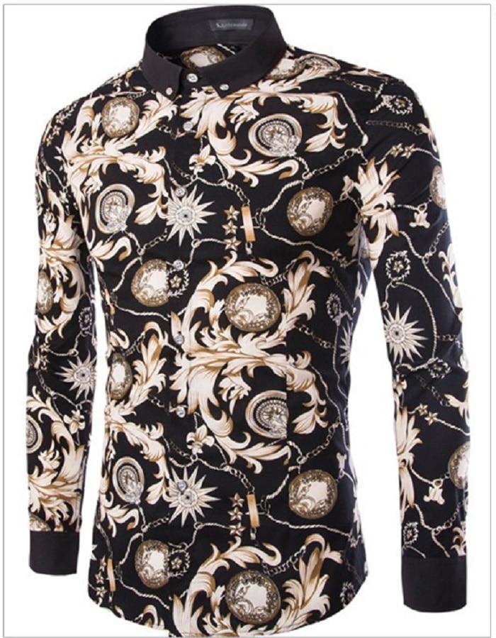 De moda de Lujo Estampado de Leopardo de Los Hombres