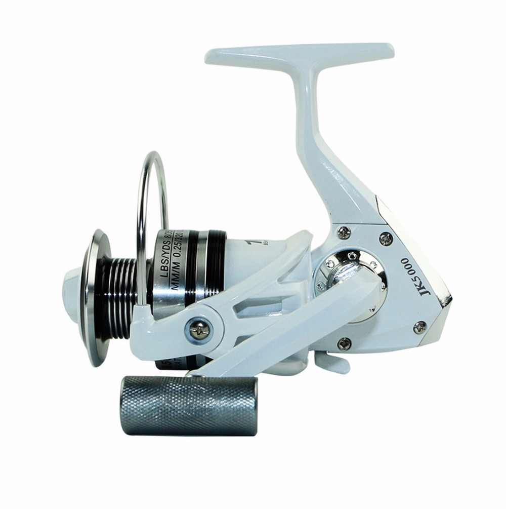 NEW HOT SALES JK7000 FOR BIG FISH Ocean inshore Fresh saltwater ICE FLY CARP spinning reel 10 Ball Bearing Metal strengthen KNOB