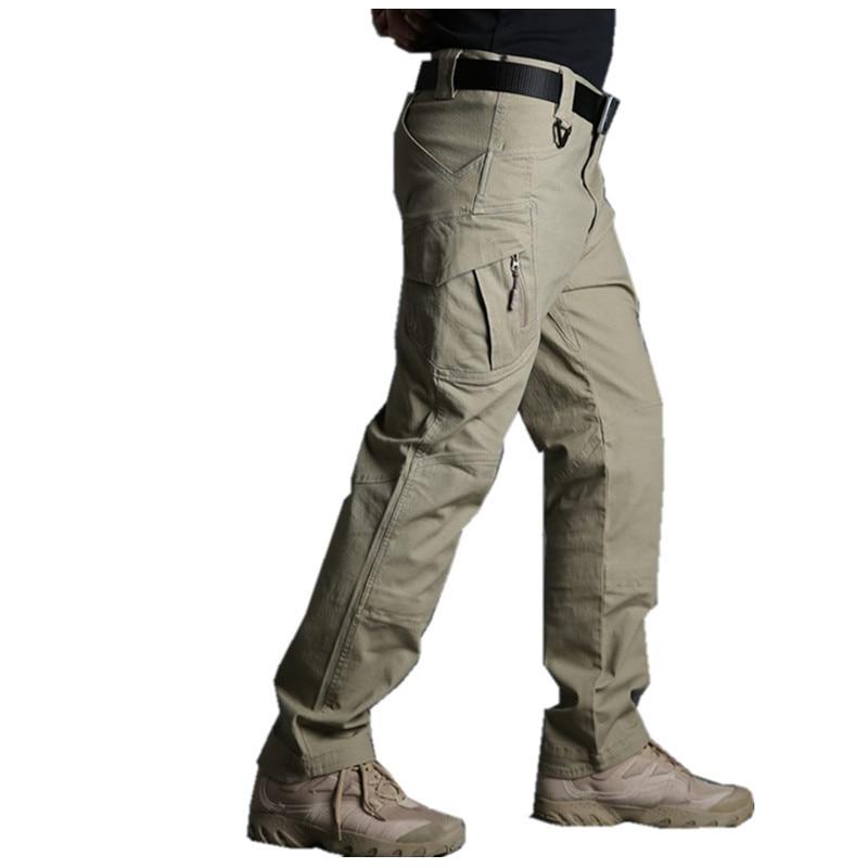 IX9 Militar Tactical Cargo Pants Men Combat SWAT Army cargo Military Pants Casual Cotton Paintball Hunt Hike Outdoors Trouser
