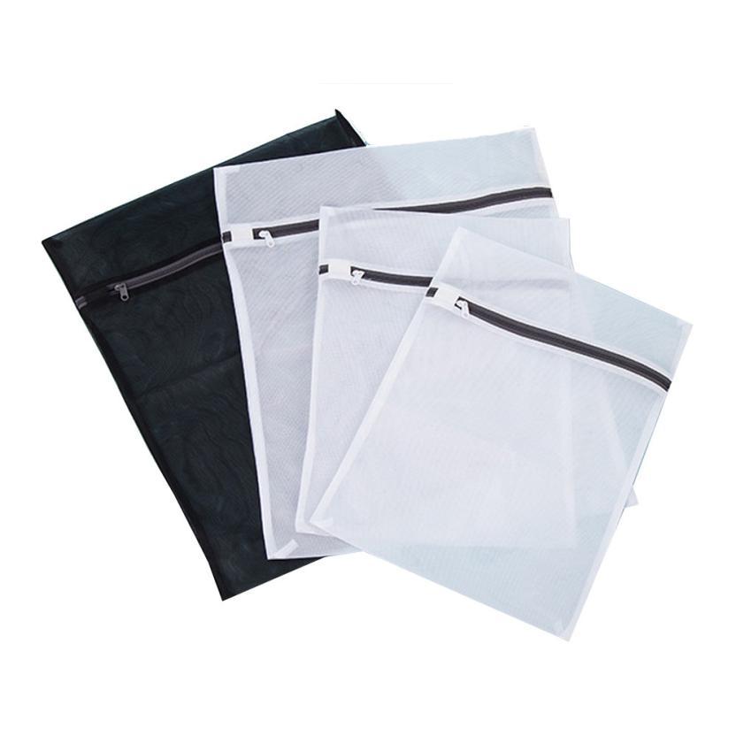 Coneed 4 шт./компл. сетки Прачечная Сумки 2 размера для бюстгальтер белье защита Стираль ...