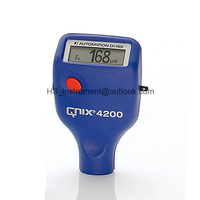 QNIX 4200 Paint Coating Thickness Tester Zinc Coating Thickness Gauge Fe