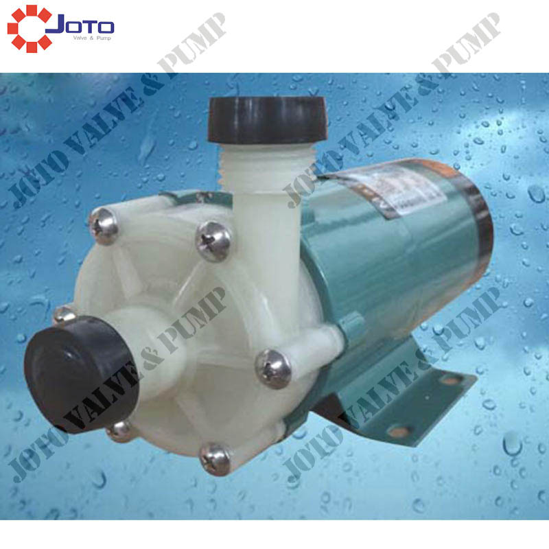 2pcs MP-30R/M Plastic Magnetic Drive Pump Acid Resistance Magnetic Centrifugal Pump Transport Waste Liquid цена и фото
