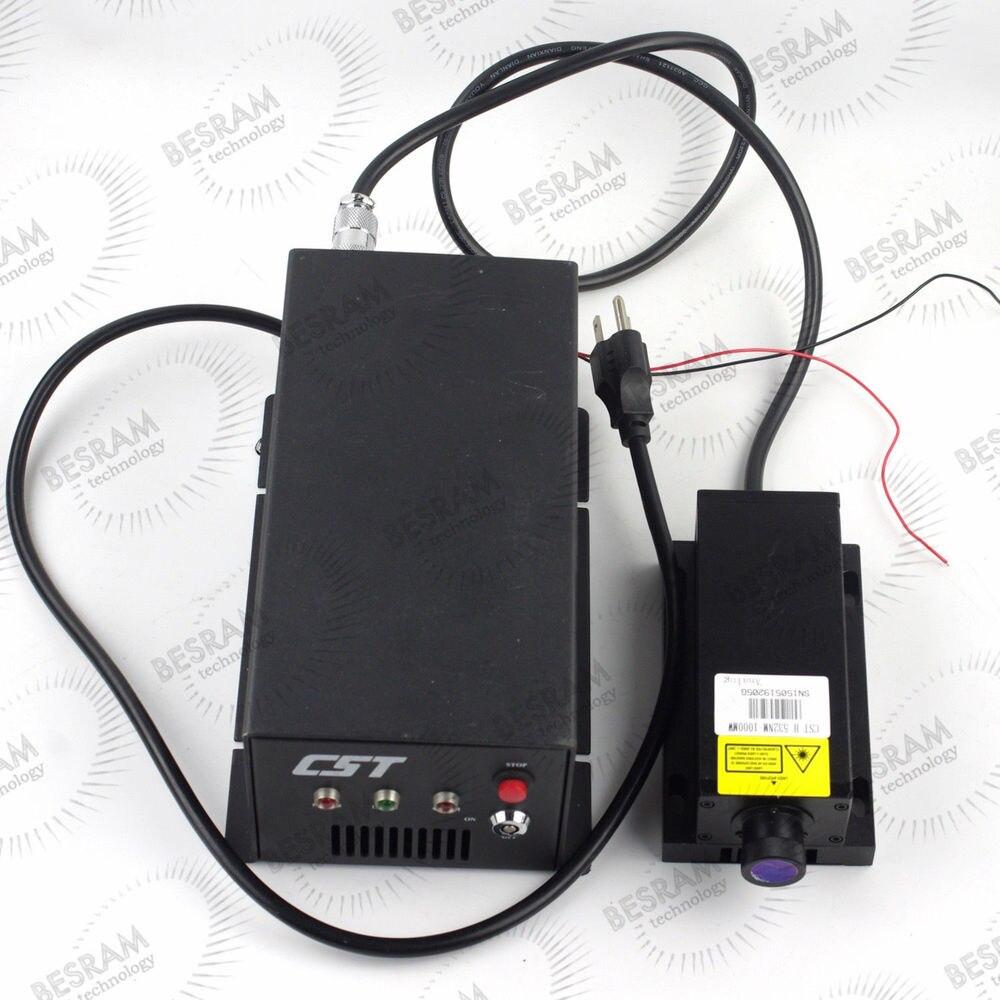 Research 1W 2W 3W 4W 5W 9W 10W 532nm Green DPSS Solid Stated Laser Module TTL/Analog