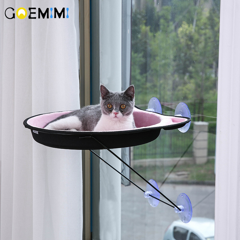 New Arrival Cat Hammock Comfortable Soft Pet Bed For Cat Rest House Top Quality cama para gato Cats Window Kennels