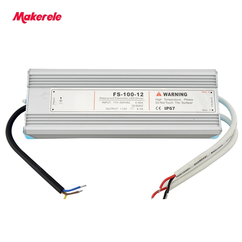IP65 LED waterproof 100w 5v 12v 15v 24v 48v SMPS LED Switching Power Supply Constant Voltage Driver, 220v ac/dc Lighting fast delivery 2a 5v 10w ms 10 5 ip20 constant voltage 12v 10w switching model power supply ac to dc 10w 12v power supply
