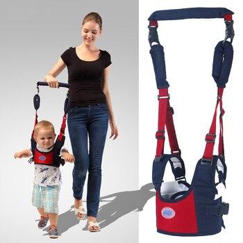 Ejercicio seguro cuidado del bebé aprendizaje arnés para caminar mochila Stick Sling Boy Girls ayuda infantil andador asistente alas de cinturón