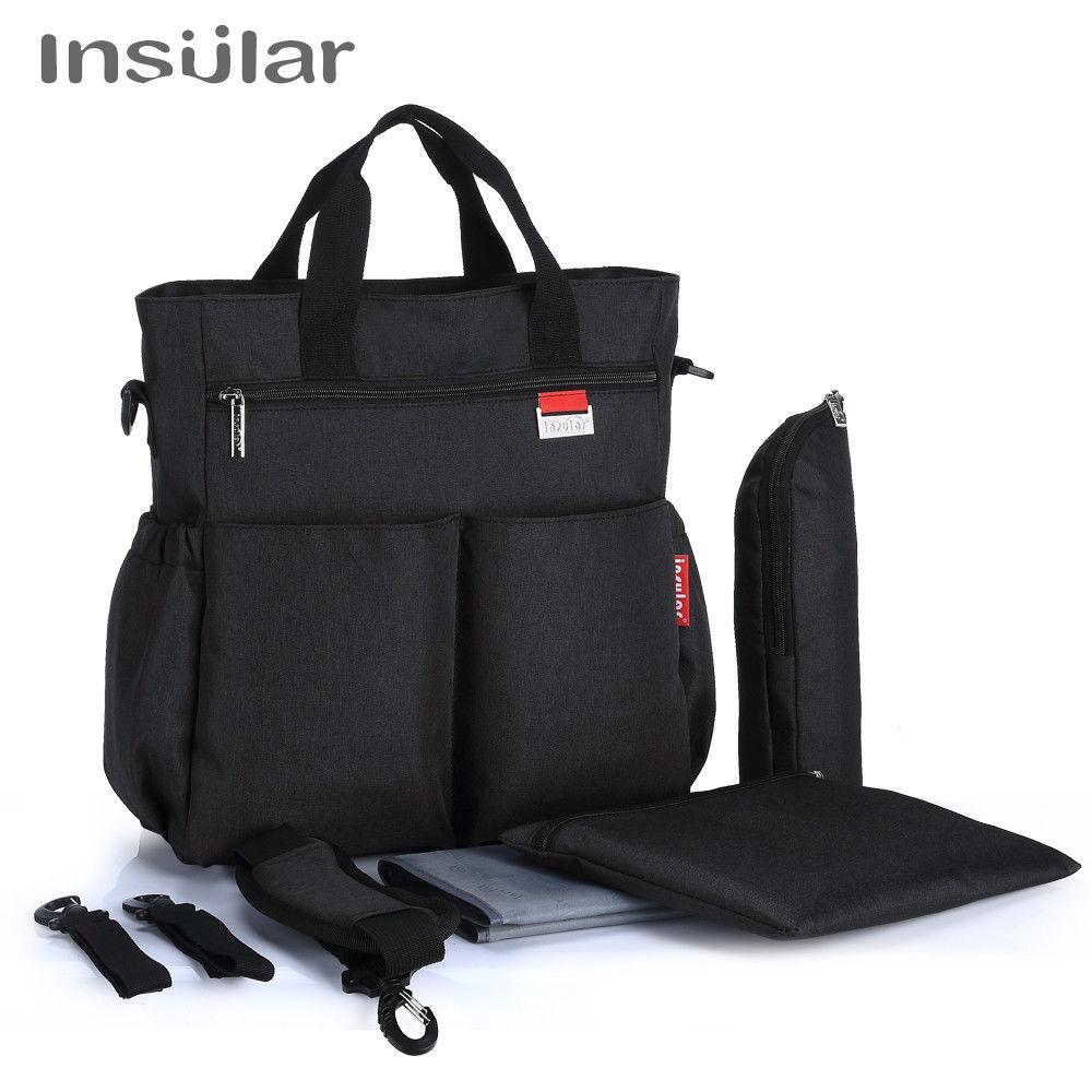 HTB1OymaHb1YBuNjSszhq6AUsFXap Insular Mummy Diaper Bag Large Nursing Bag Travel Backpack Designer Stroller Baby Bag Baby Care Nappy Backpack bolsa maternidade