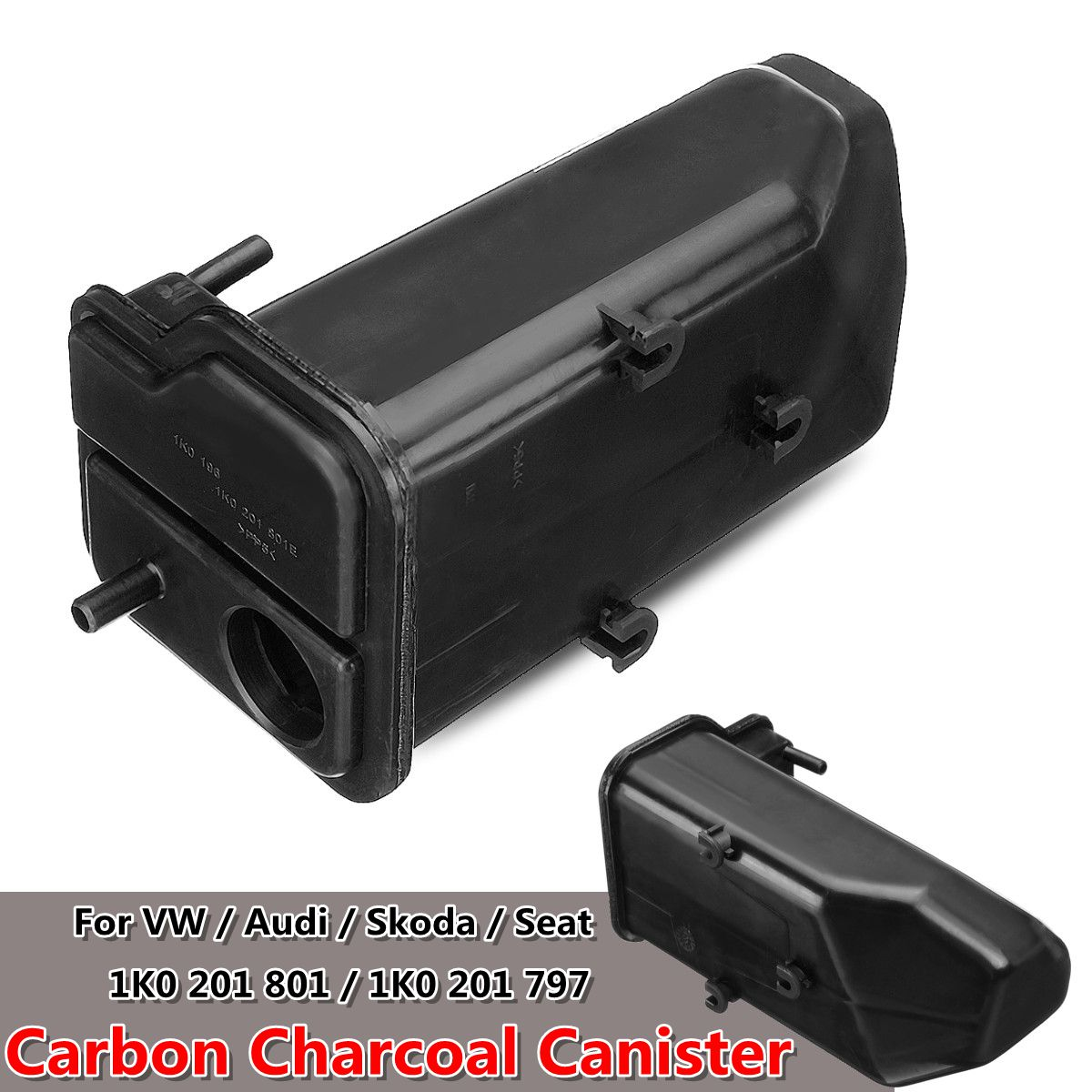 1K0 201 801 Car Carbon Charcoal Canister For Volkswagen For VW/Jetta/Golf For Audi A3 TT For Skoda Seat 1K0 201 801E 1K0 201 797