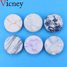 Vicney 2019 New arrival Fashion classic Portable Double Sided Mirror Fresh Simple Pocket Makeup Cosmetic Compact Mirrors
