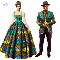 Sweet Lovers Matching Couples Clothes Gift Valentine' day Long Sleeve Women Maxi Dresses and Mens Jacket Suits Plus Size WYQ75