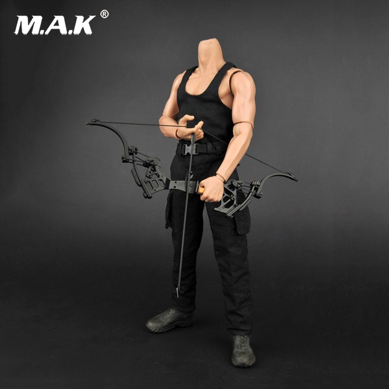 For Collection 1/6 Scale Black Vest Pants Clothes Suits Set For 12Male Figure Body Model Toys Acc pants arma collection ladies pants
