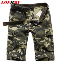 Camouflage Shorts Men Shorts Beach Military Army Outdoor Cotton Fashion Sport Mens Cargo Shorts Camisas Clothes