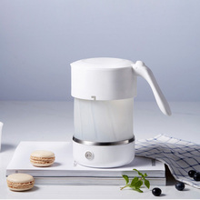 Electric Travel Kettle Silicone Foldable Kettle Chaleira Portable Collapsible Water Boiler Home Electrical Appliances 110V 220V