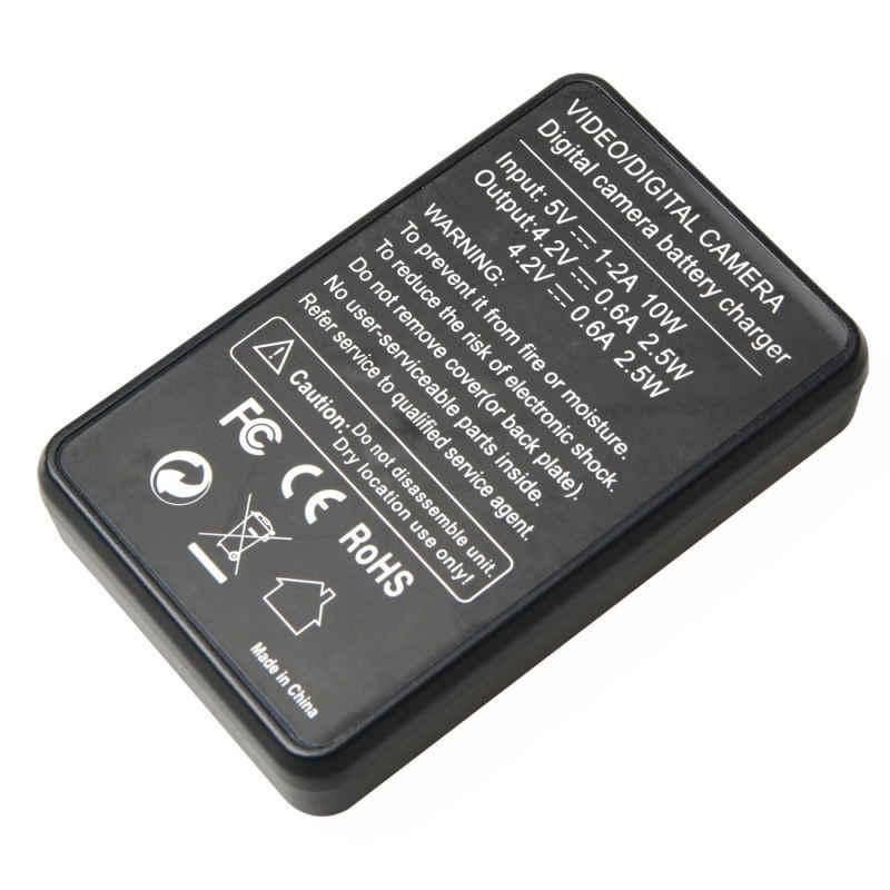 Sjcm батарея Usb ЖК-дисплей двойной порт зарядное устройство для Sjcm Sj4000/Sj5000/6000/7000 камеры аксессуары