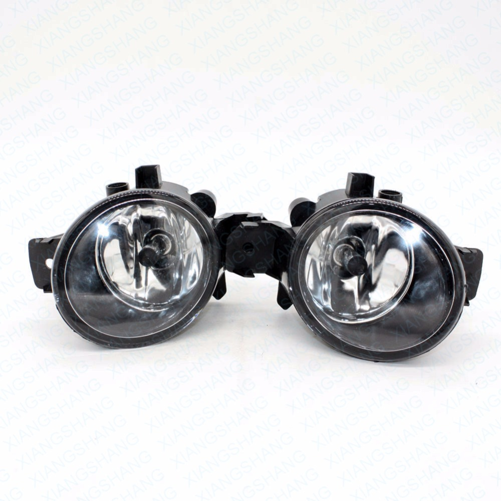 Front Fog Lights For NISSAN MARCH 3/III (K12) Hatchback 2003-2009 2010 Auto bumper Lamp H11 Halogen Car Styling Light Bulb for vw touareg 2003 2004 2005 2006 2007 2008 2009 2010 right side car styling halogen front bumper fog lamp fog light with bulb