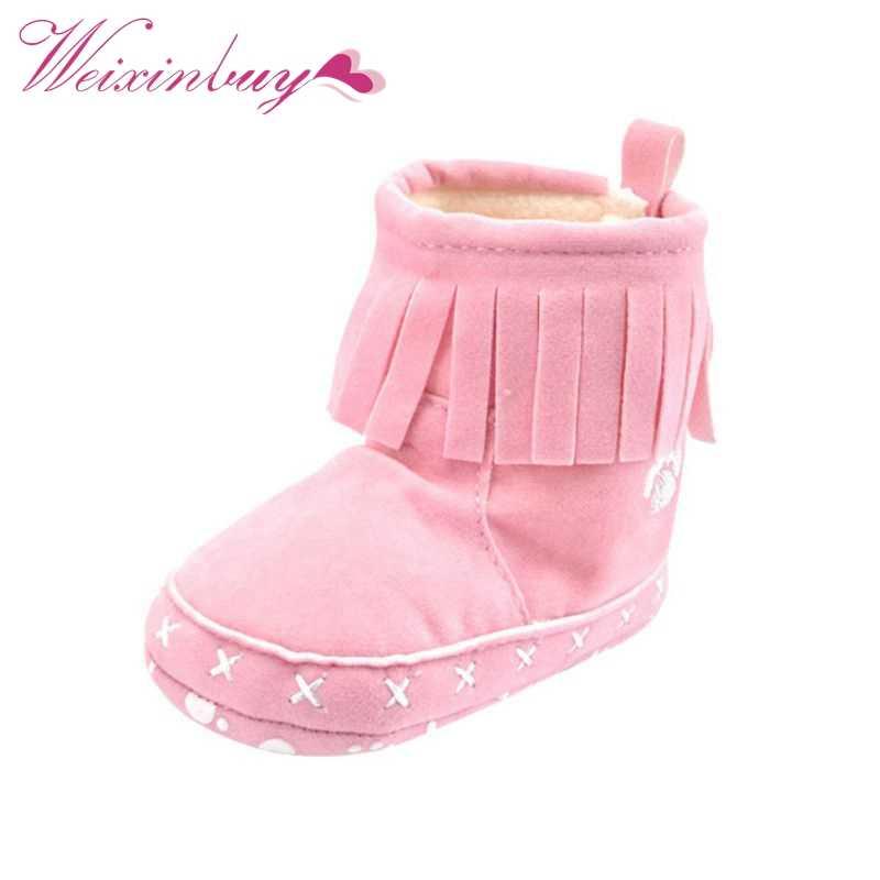 Winter Peuter Snowboots Infant Schoenen Baby Boy Meisjes Schoenen Crib Schoenen 0-18 M 20 Kleuren