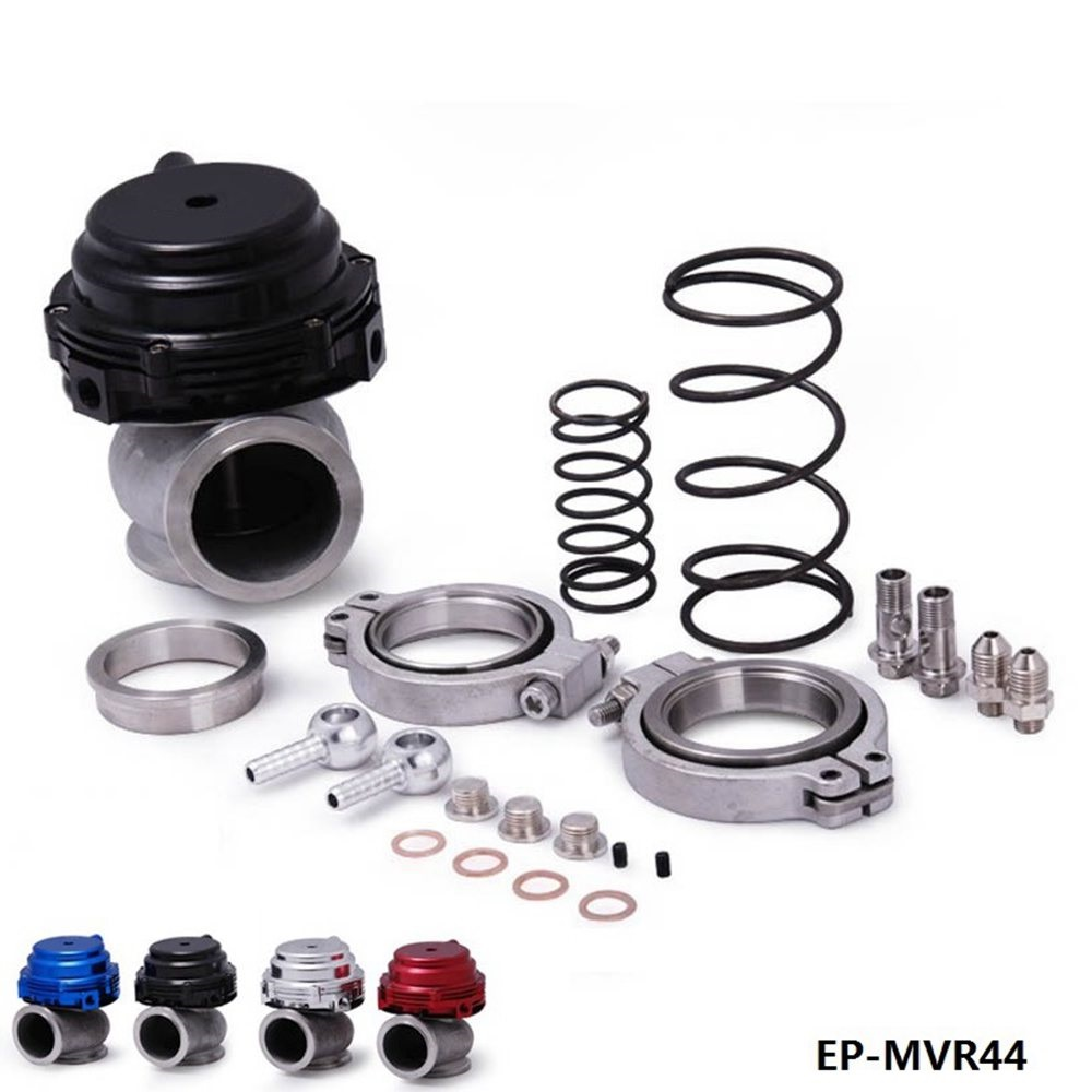 MVR 44mm V Bande Externe Wastegate Kit 24PSI Turbo Wastegate avec V Bande Bride Haute Qualité EP-MVR44